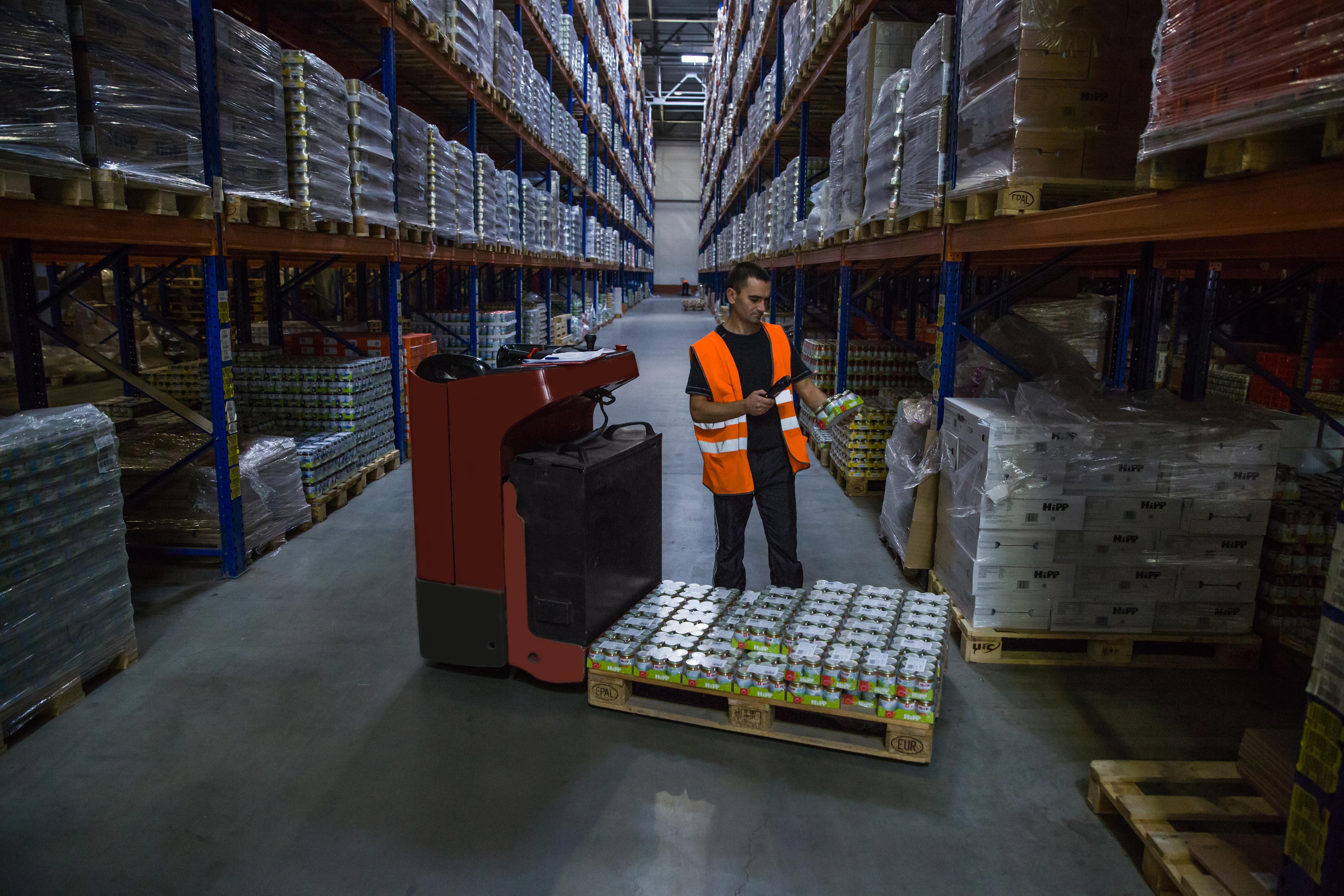 Оптимизация складских услуг